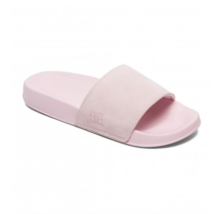 Dc Shoes Slide Se ciabatte in camoscio da donna