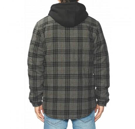 Globe Alford Ls Shirt camicia a quadri imbottita in flanella spazzolata da uomo