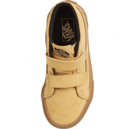 Vans Sk8-Mid Reissue V Sneakers da bambino con chiusura in velcro