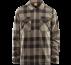 Thirtytwo Drifter Fleece giacca camicia reversibile da uomo